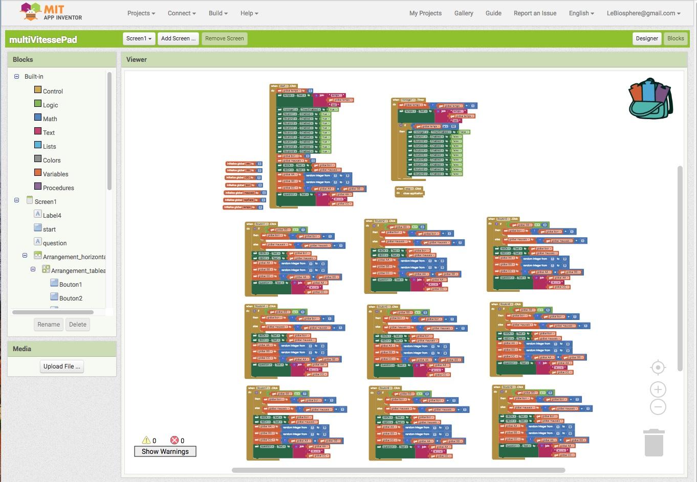 Programmation graphique