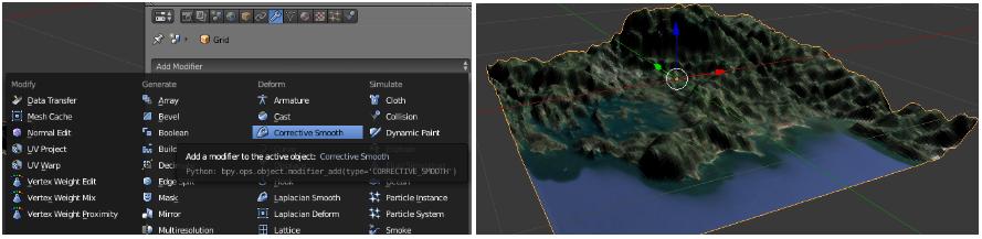 Atelier cartographie 3D