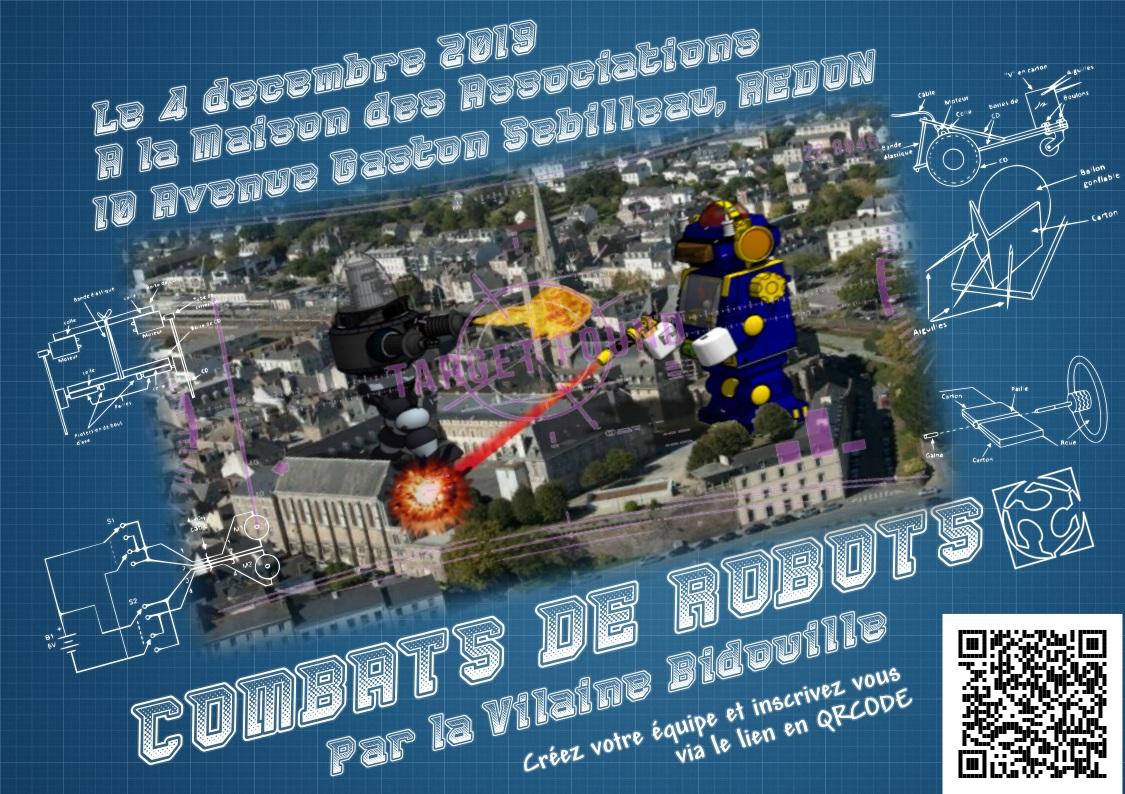 Tournoi de Combats de Robots à Redon